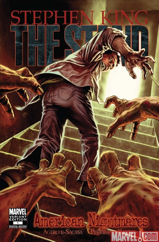THE STAND: AMERICAN NIGHTMARES #1 Bermejo Variant Cover