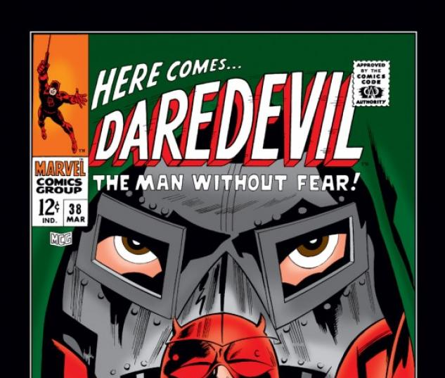 DAREDEVIL #38 COVER