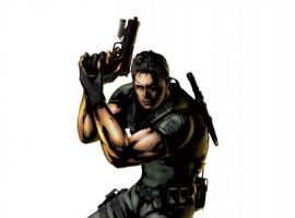 Marvel vs. Capcom 3: Fate of Two Worlds Chris Redfield promo art