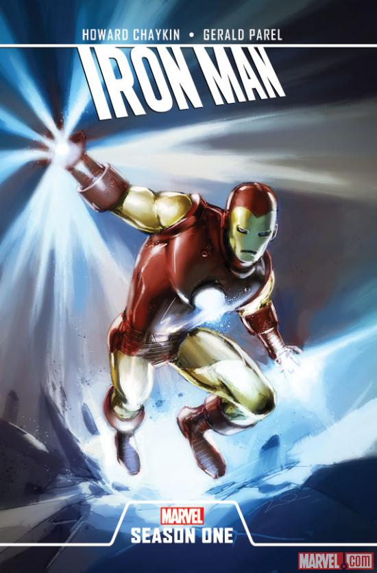 Iron Man: Season One cover by Julian Totino Tedesco