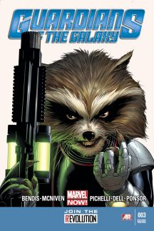 Guardians of the Galaxy (2013) #3 (2nd Printing Variant)