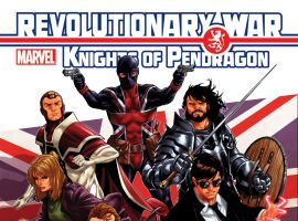 cover from Revolutionary War: Knights of Pendragon (2014) #1