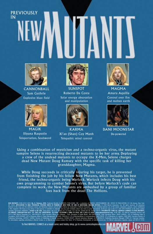 New Mutants (2003) #8