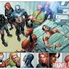 Image Featuring Black Widow, Iron Man, Pepper Potts, The Winter Soldier