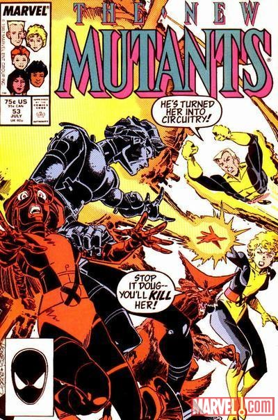 Image Featuring Cannonball, Magma (Amara Aquilla), Wolfsbane, New Mutants