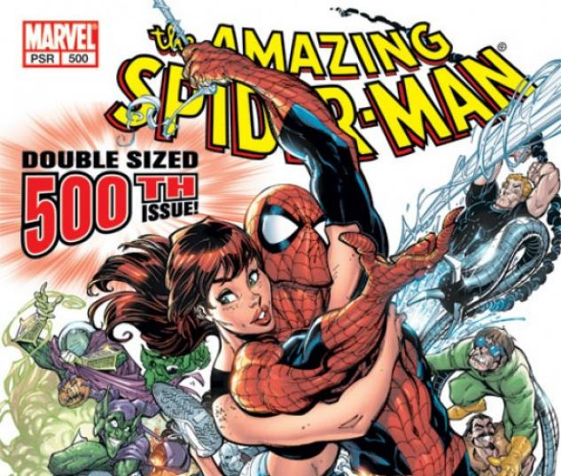 AMAZING SPIDER-MAN (2003) #500 COVER