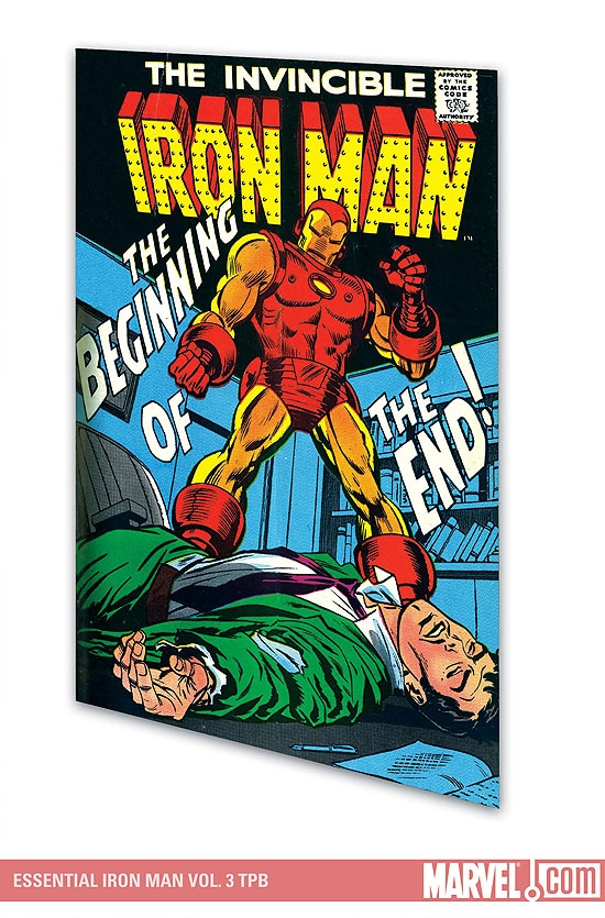 ESSENTIAL IRON MAN VOL. 3 TPB #0
