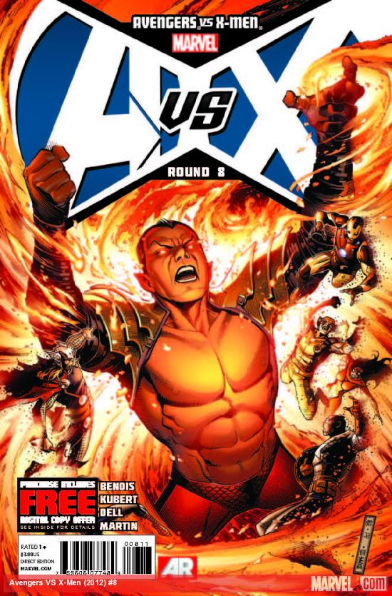 AVENGERS VS. X-MEN 8 (WITH DIGITAL CODE)