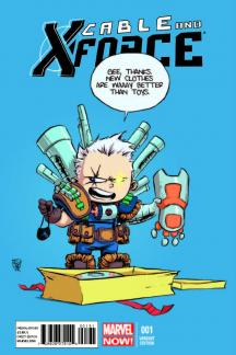 Cable and X-Force #1  (Young Variant)