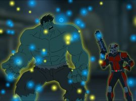 Hulk & Ant-Man have some Pym Particle trouble in Marvel's Avengers Assemble - One Little Thing