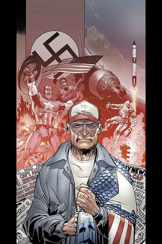 CAPTAIN AMERICA (2007) #10 COVER