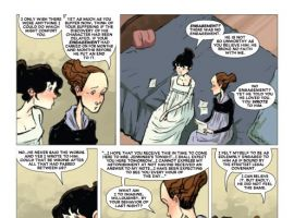 Sense & Sensibility #4 preview art by Sonny Liew