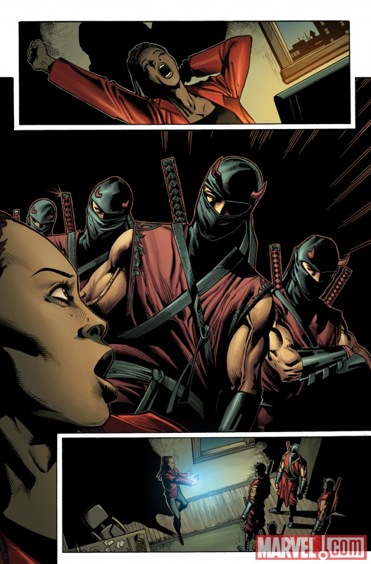 SHADOWLAND: BLOOD ON THE STREETS #2 preview art by Wellinton Alves 3
