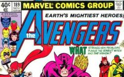 Image Featuring Captain America, Falcon, Hawkeye, Scarlet Witch, Thor, Vision