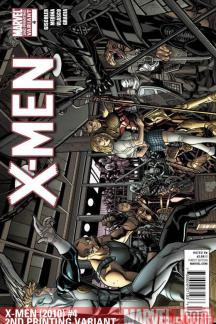 X-Men (2010) #4 (2ND PRINTING VARIANT)