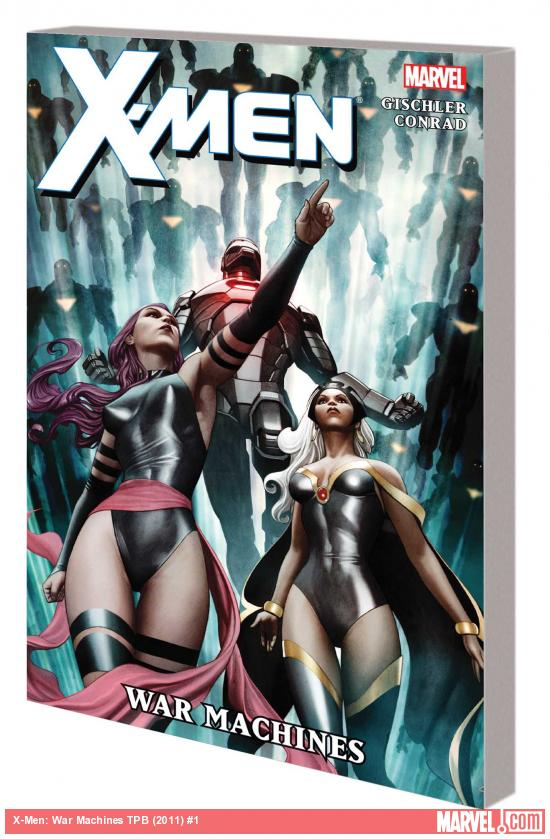 X-MEN: WAR MACHINES TPB