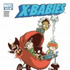 X-BABIES #4 Cover by Skottie Young