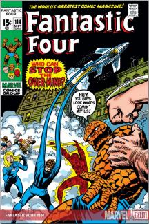 Fantastic Four (1961) #114