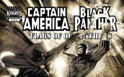 CAPTAIN AMERICA/BLACK PANTHER: FLAGS OF OUR FATHERS #3 cover by Denys Cowan