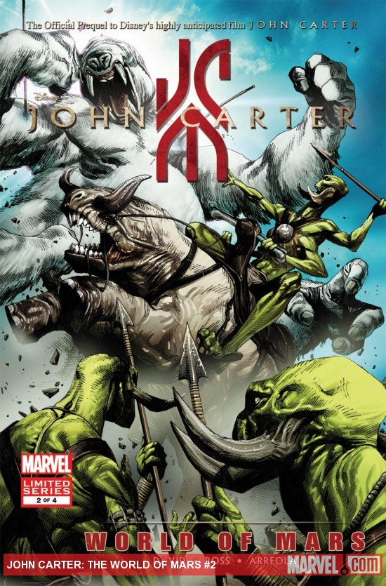 John Carter: The World Of Mars (2011) #2