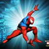 Alternate Spider-Man skin from the Evil Twin DLC pack for Ultimate Marvel vs. Capcom 3