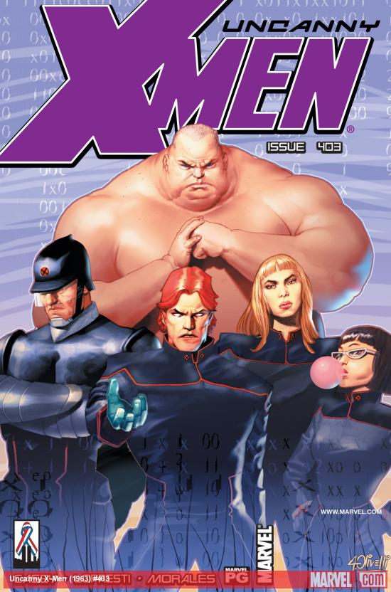 Uncanny X-Men #403 Cover