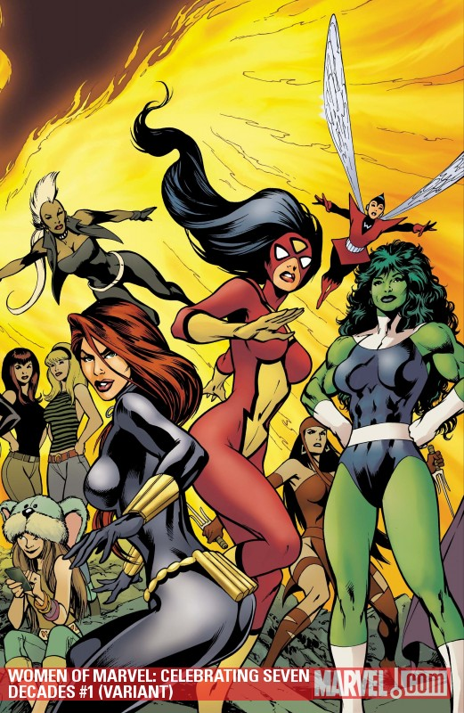 Women of Marvel: Celebrating Seven Decades (2010) #1 (VARIANT)