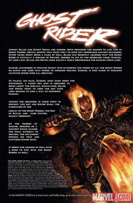 Ghost Riders: Heavens on Fire (2009) #5