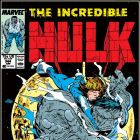 INCREDIBLE HULK #344 COVER