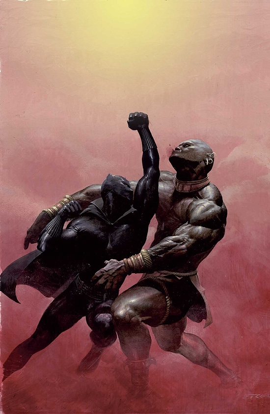 BLACK PANTHER (2006) #2 COVER