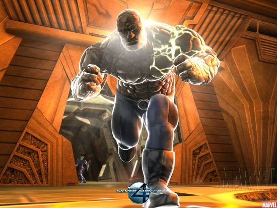 Fantastic Four: Rise of the Silver Surfer: Thing Charging