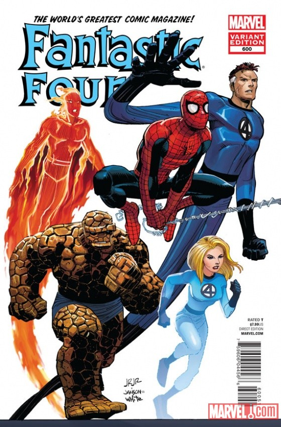 Fantastic Four #600 Cover Art by John Romita Jr.