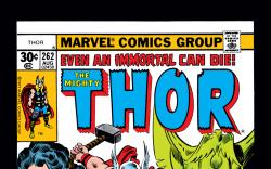 Thor (1966) #262 Cover