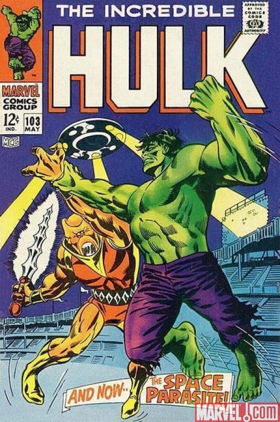 INCREDIBLE HULK #103 (1962)