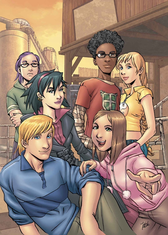 RUNAWAYS (2002) #12 COVER