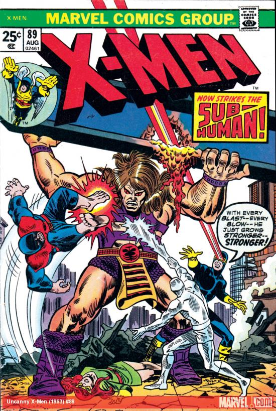 Uncanny X-Men #89 Cover