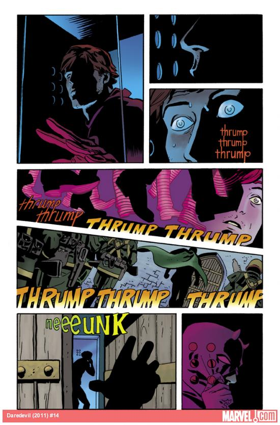 Daredevil (2011) #14 preview art by Chris Samnee