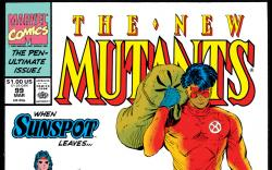 New Mutants (1983) #99 Cover