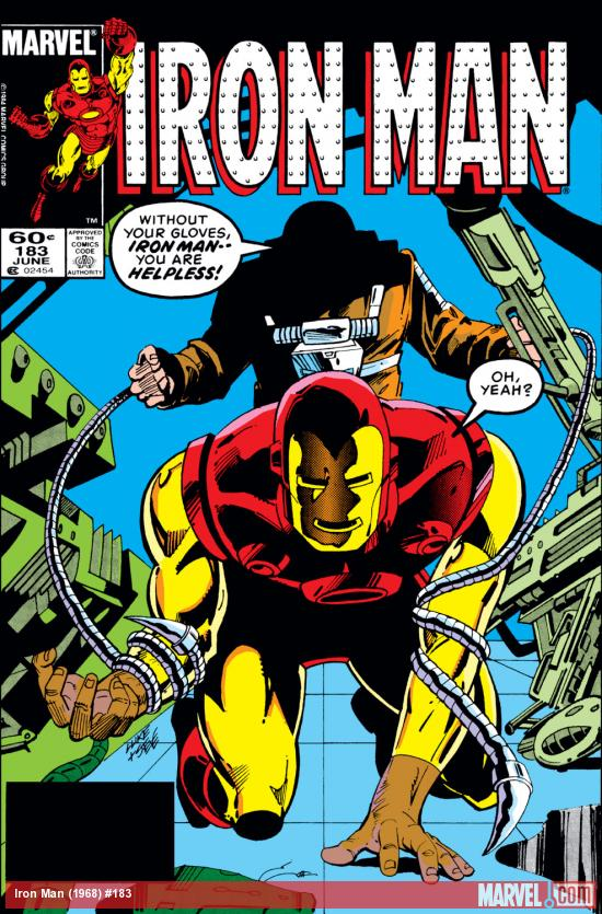 Iron Man (1968) #183 Cover