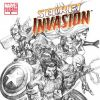 SECRET INVASION #8 Yu Sketch Variant Cover