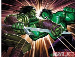 INCREDIBLE HULK #611 cover by Dale Keown