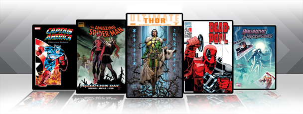Marvel iPad/iPod App: Latest Titles 11/10/10