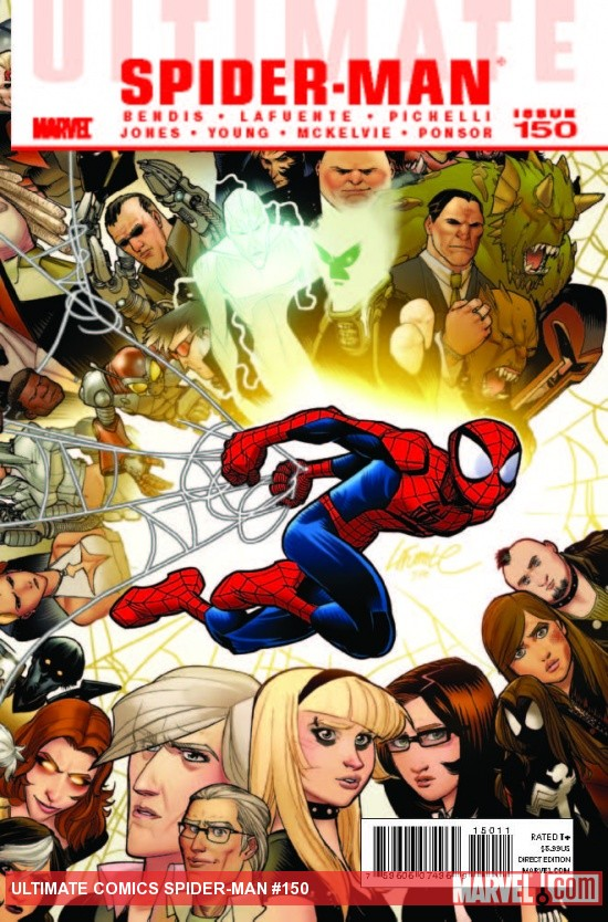 Ultimate Comics Spider-Man #150 cover by David LaFuente