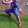 Marvel Costuming: Laban Boldero as Captain America