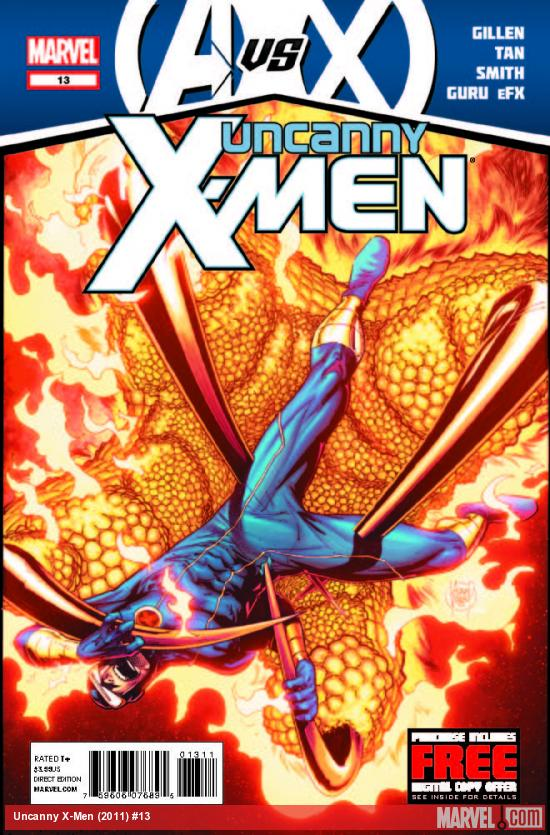 UNCANNY X-MEN 13 (AVX, WITH DIGITAL CODE)