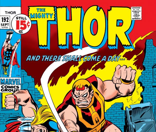 Thor (1966) #192 Cover