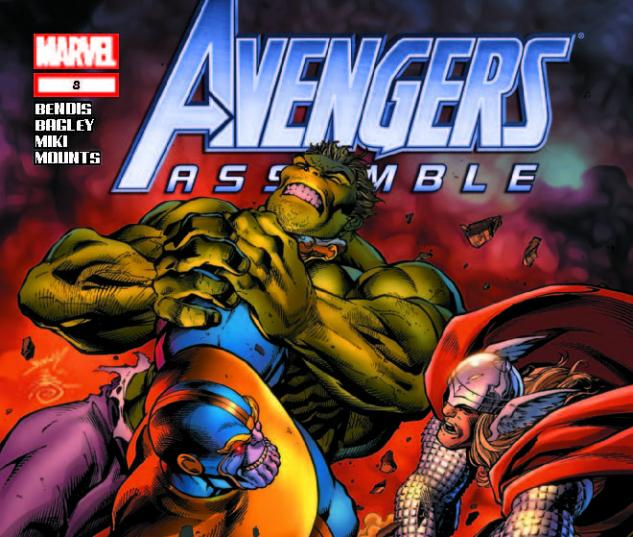AVENGERS ASSEMBLE 8 (WITH DIGITAL CODE)