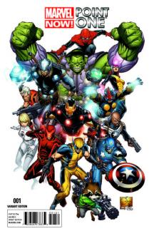 Marvel Now! Point One #1  (Quesada Variant)