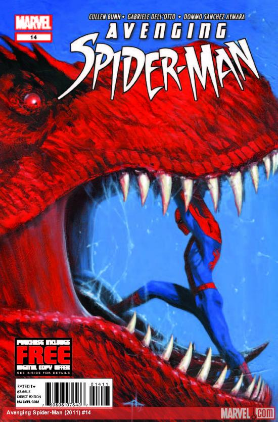 AVENGING SPIDER-MAN 14 (WITH DIGITAL CODE)