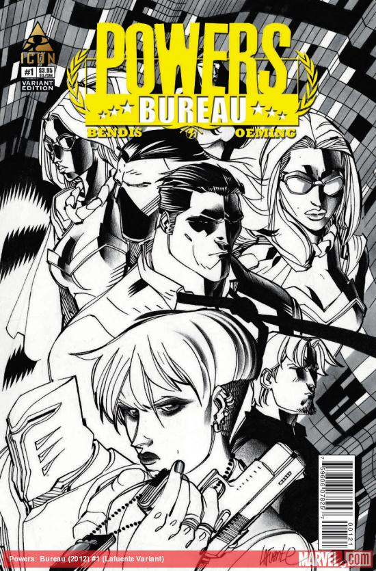 POWERS: BUREAU 1 LAFUENTE VARIANT (1 FOR 20)